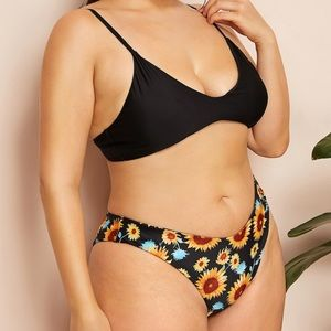 SHEIN Swim - Sunflower bathing suit